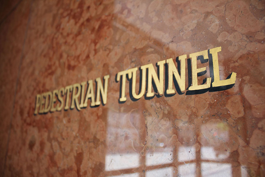 Pedestrian-Tunnel-Sign
